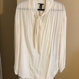 H&M - white blouse. New with tags